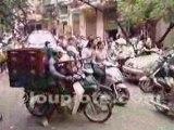 Rush Hour in Ho Chi Minh City - Saigon (Vietnam)