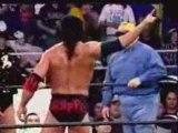 WCW Scott Hall vs Larry Zbyszko