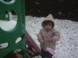 Mes premiers pas dans la neige