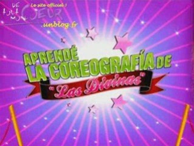 """Apprendre la chorégraphie de """"Las divinas"""""""