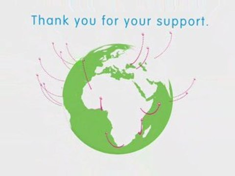 Thank you from the children of OLPC
