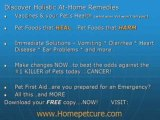 Natural Products for Home Pet Remedies