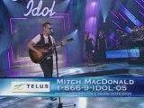 Mitch MacDonald - Follow Through - Canadian Idol