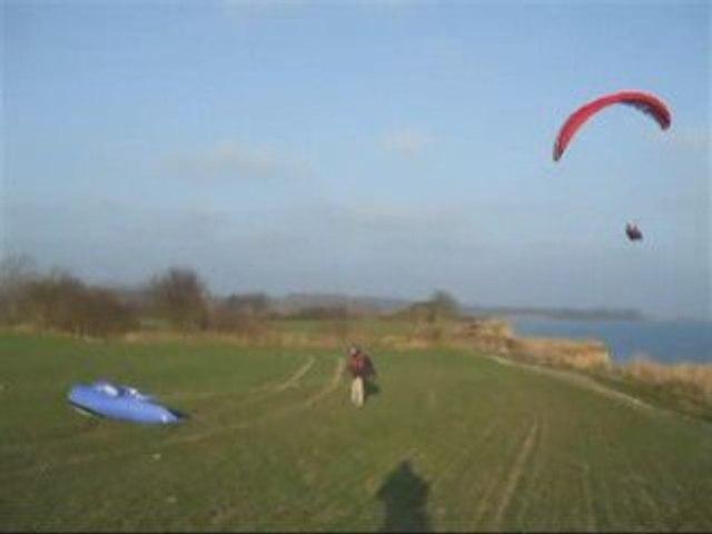 30.12.2008 Gleitschirm fliegen