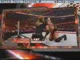 WWE Monday Night Raw - Dec 29, 2008