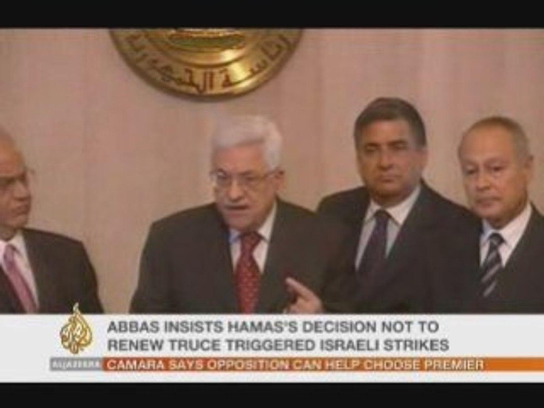 Gaza sous le feu, ALJAZEERA NEWS 28 DEC 2008