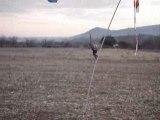 decollage paramoteur sans vent à st montan