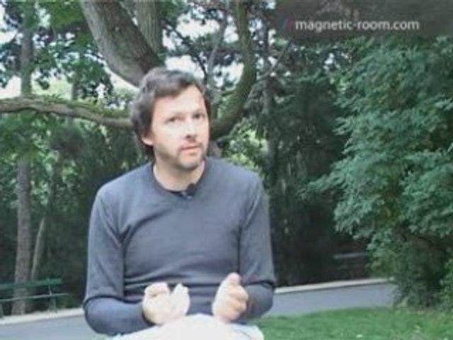 Antoine Schmitt, artiste programmeur Interview Magnetic Room
