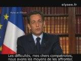 Voeux du Président de la République pour l'année 2009