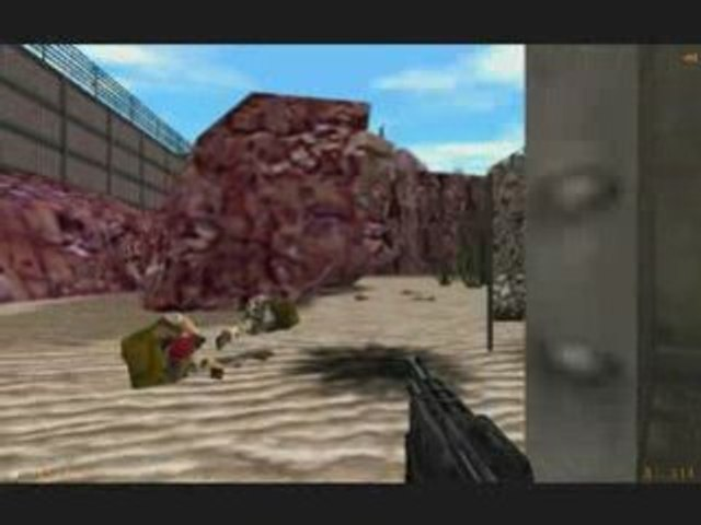 Walkthrough: Half-life (11): Surface en tension (1/4)
