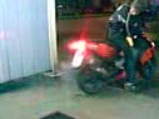 Burn scooter