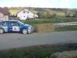 CLIO S1600 rallye Mouzon 2008 !!! Bruit de malade !