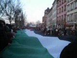 Manifestation Palestine à Strasbourg le 3.01.09