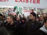 Manifestation pour la palestine à lyon le 3 janvier 2009