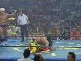 Hulk Hogan & Randy Savage vs. Ric Flair & Vader