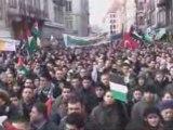 Manifestation contre la barbarie sioniste à Gaza 2