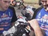 Dakar 2009 : Installation caméra embarquée de David FRETIGNE