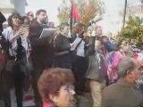 5000 personas en Sevilla contra la masacre de Gaza