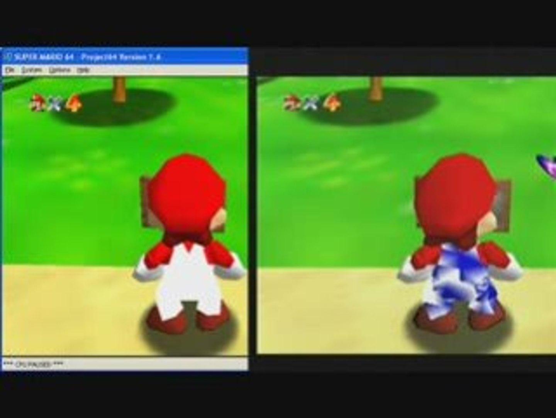 SM64 Mario colour code problem