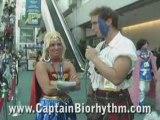 Totally Buffed Beautiful Wonder Woman  At 2008 Comic-Con