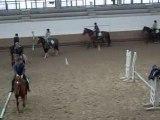 Cours d'équitation CHV, Galop en bazard et presque chute
