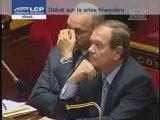 Crise financière-déclaration de François Fillon