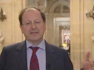 Hervé Novelli - auto-entrepreneur et professions libérales