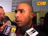 BOULOGNE - LENS INTERVIEWS JOUEURS LENSOIS