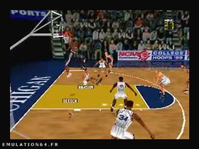 Fox Sports College Hoops 99 (N64) (2)