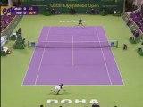 Roger Federer & Andy Murray Doha 2009