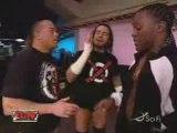 Elijah Burke, RVD and CM Punk backstage