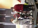 Squat 100kg raté 2eme essai