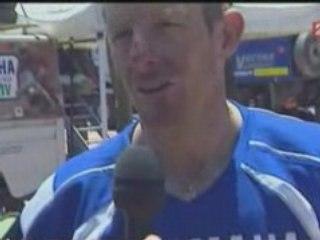 Interview David Frétigné de la 9em etape du DAKAR