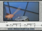 Lesson 25 - Drum Rudiment - Play Drums - Drum Lessons