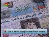 Gaza : les réactions contre l'offensive israélienne