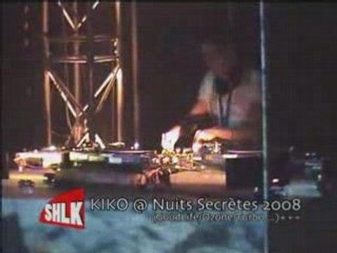 Kiko @ Nuits Secrètes 2008 (2008.08.08) Part1