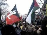 Manifestation en solidarité avec  Gaza, 03 janvier 2009