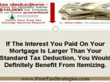 Tax Deduction   Tax Deductions For Homeowners