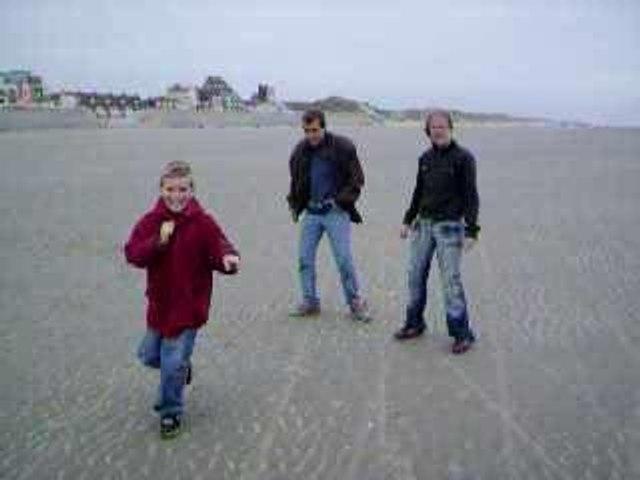 Fous en direct sur plage