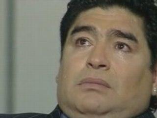 Maradona rock star !