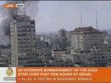 UN FLAG Burns in the smoke. ISRAEL KILLING KIDS GAZA