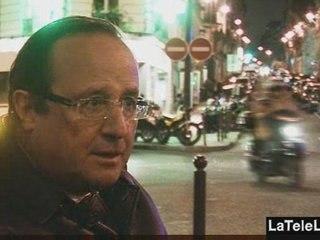 POUR HOLLANDE LE GOUVERNEMENT DE SARKOZY « INVENTE » DES TERRORISTES
