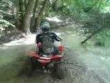 Quads bain de boue cool 16