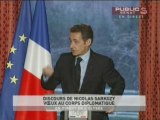 Voeux de Nicolas Sarkozy au corps diplomatique
