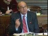 Yves Pozzo Di Borgo au Conseil de Paris le 25 novembre 2008