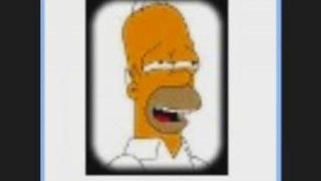Voix de guidage GPS homer Simpson. les simpsons
