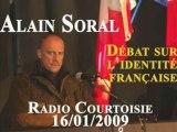 Alain Soral et l'identité française Radio Courtoisie Part 5