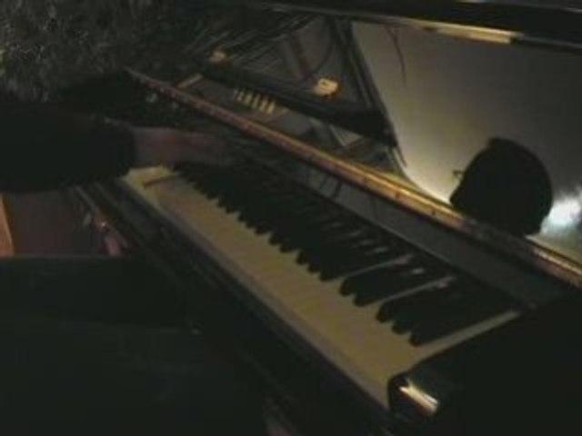 Musique triste pour le piano - Valse lente et variations