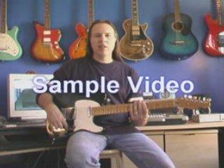 Instructional guitar video pentatonic scales