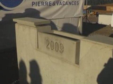 """Première pierre au Center Parcs """"Domaine des Trois Forêts"""""""